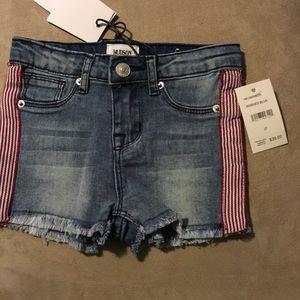 Hudson toddler Jean shorts
